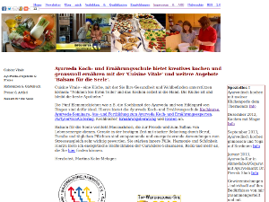 Ayurveda Koch- und Ernährungsschule Cuisine Vitale