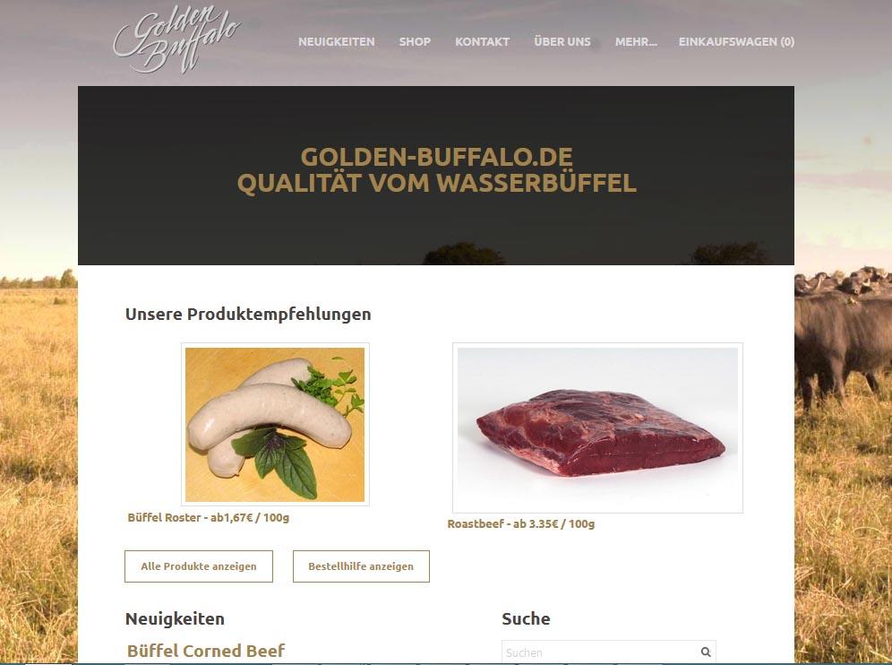 Spezialitäten vom Wasserbüffel